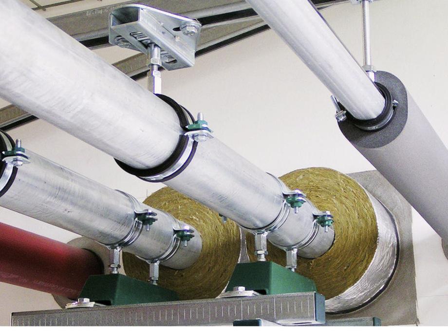 Rohrschelle Schelle Rohrhalter PE-Rohr Schraubrohrschelle mit Schutz