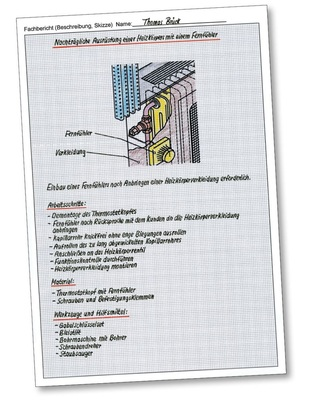 Vorlagen fachberichte shk Fachberichte download